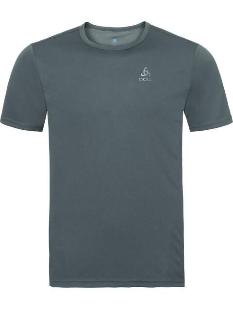 Odlo Cardada S/S Crew Neck Shirt Men odlo steel grey